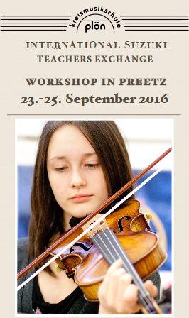 Erster norddeutscher Workshop für Violinschüler in Preetz